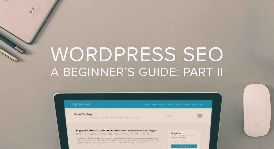 Wordpress Seo Guide Keywords